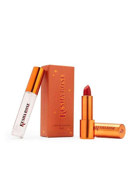 null - Kesha Rose Lipstick & Gloss Duo