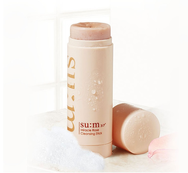 null - SU:M37 Miracle Rose Cleansing Stick - MASSAGE AND CLEANSE *SOLD OUT IN KOREA* HIGHLY RAVED IN KOREA AND HER WORLD MAGAZINE