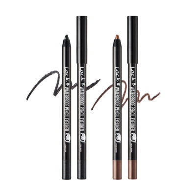 L.O.C.K. Waterproof Pencil Eyeliner, Pearl Brown