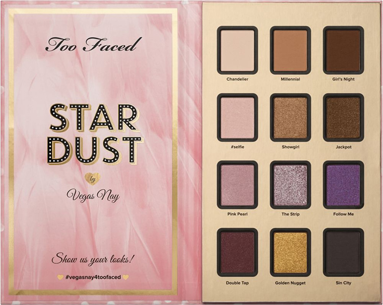 Temptalia: Makeup Reviews, Swatches, Dupes to Help You Shop Smarter! Too Faced Stardust by Vegas Nay Eyeshadow Palette for Fall 2015