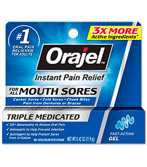 Orajel - Orajel™ Mouth Sore Gel