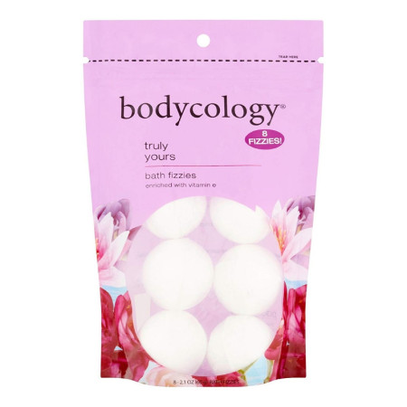 Bodycology Bodycology Truly Yours Bath Soak Fizzies Bombs, 8 ea (1 Pack)