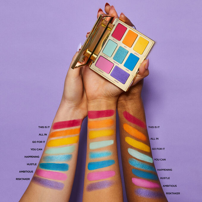 tarte - @jessiepaege x tarte let it rain-bow eye set
