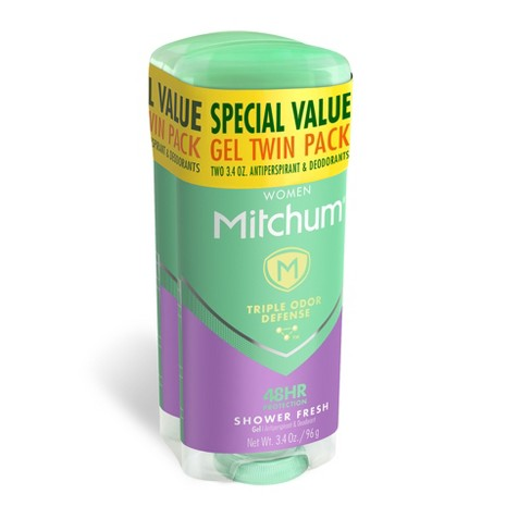 Mitchum - Mitchum Women's Advanced Control Shower Fresh Gel Antiperspirant & Deodorant Twin Pack - 6.8oz