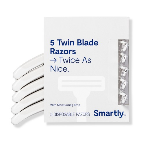null - Twin Blade Razors - 5ct - Smartly™