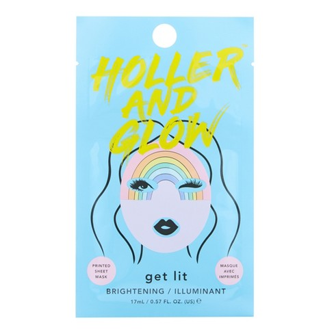 null - Holler and Glow Get Lit Facial Treatments -.57 fl oz
