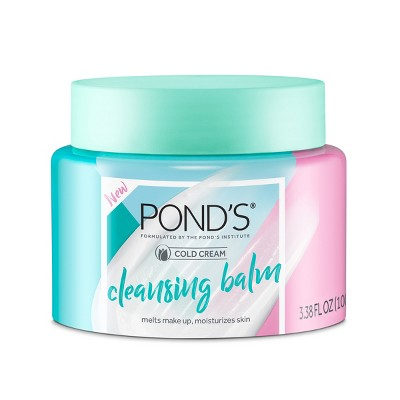 Pond's Cold Cream Facial Cleansing Balm Makeup Remover
