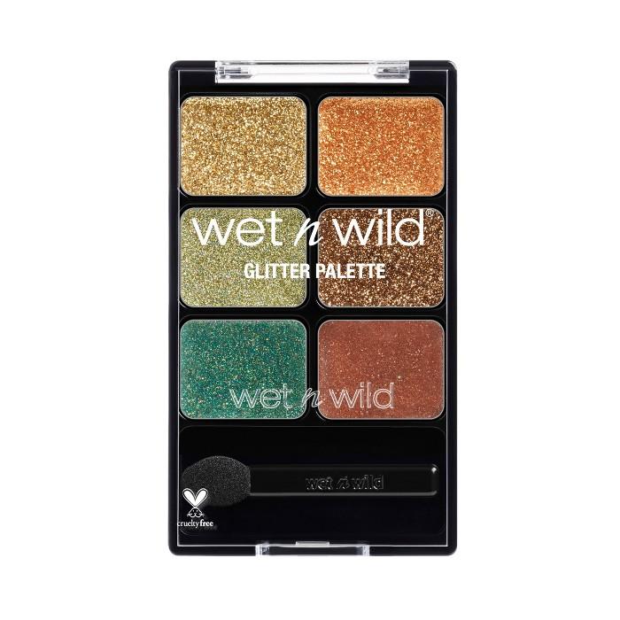 Wet n Wild Glitter Palette 4 Neutrals