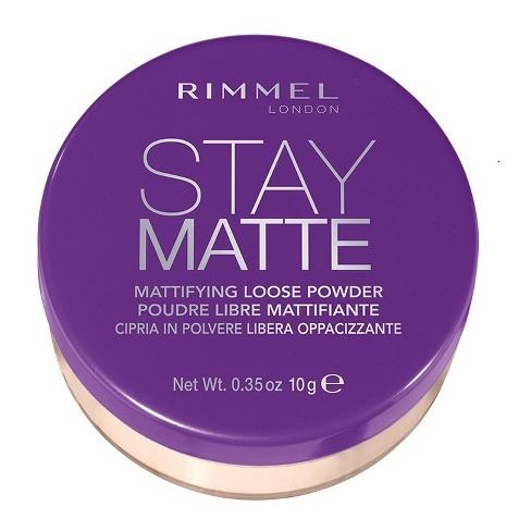Rimmel - Rimmel Stay Matte Loose Powder Transparent - 0.35oz