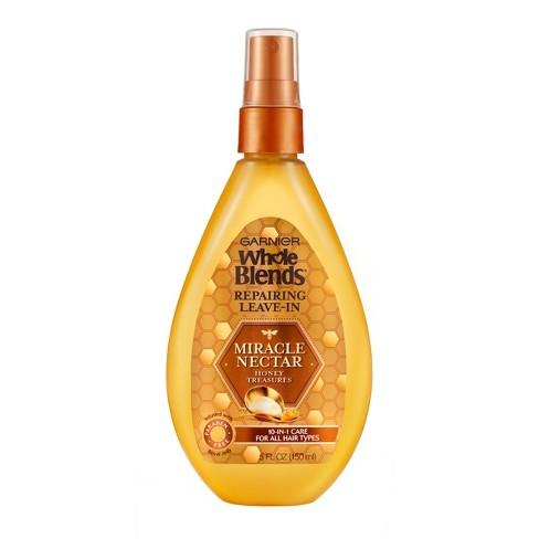 Garnier - Garnier Whole Blends Miracle Nectar Repairing Leave-In - 5 fl oz