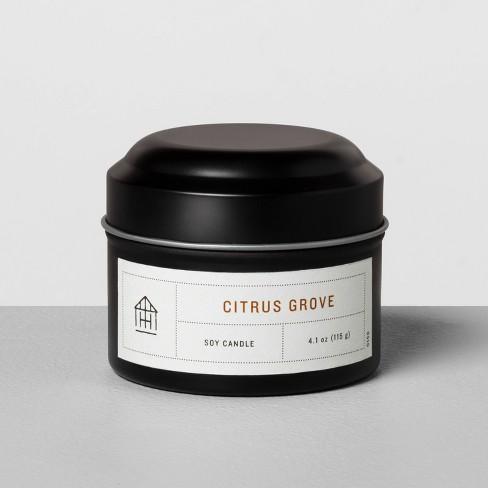 null - 4.1oz Mini Tin Candle Citrus Grove - Hearth & Hand™ with Magnolia