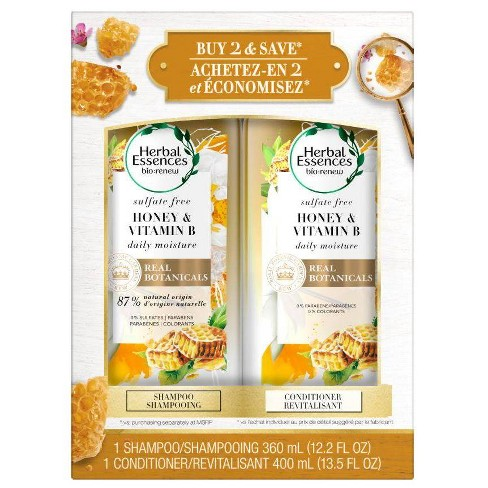 Herbal Essences - Herbal Essences Sufate Free Honey + Vit B Shampoo & Conditioner Dual Pack - 25.7 fl oz