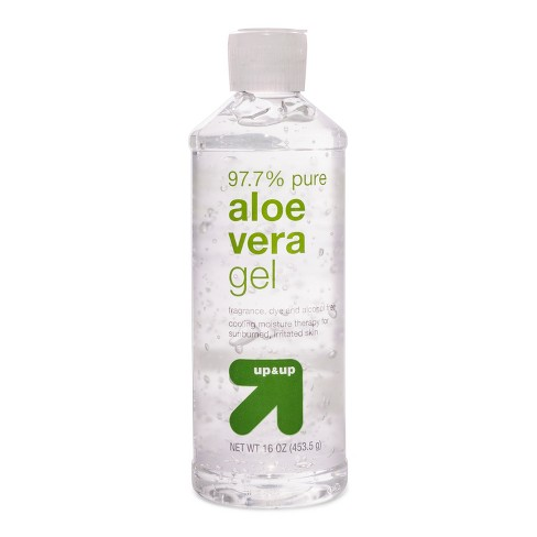 null - Clear Aloe Vera Gel - 16oz - Up&Up™