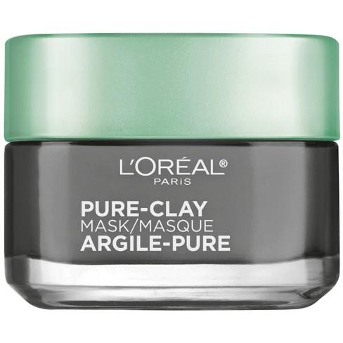 L'Oreal Paris - L'Oreal Paris Detox & Brighten Pure-Clay Mask - 1.7oz