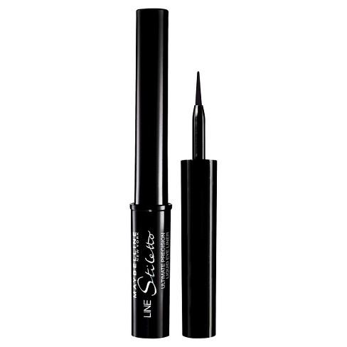 Maybelline - Maybelline Line Stiletto Ultimate Precision Liquid Eye Liner 01 Blackest Black 0.05 fl oz