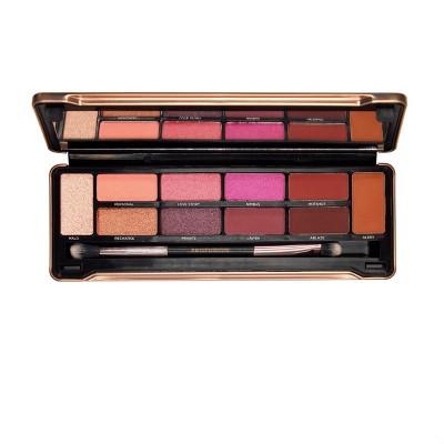 Profusion Cosmetics - Eyeshadow Make Up Case Merlot Eyes