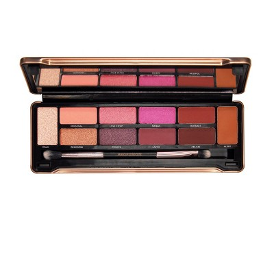 Profusion Cosmetics - Eyeshadow Make Up Case Merlot Eyes