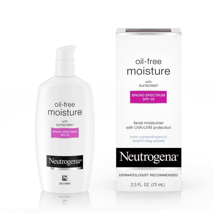 Neutrogena Neutrogena Oil Free Facial Moisturizer Sunscreen - SPF 35 - 2.5 fl oz