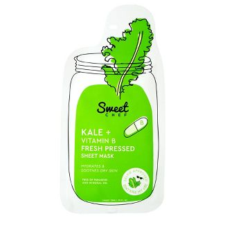 Sweet Chef - Kale Vitamin B Fresh Pressed Face Mask Sheet
