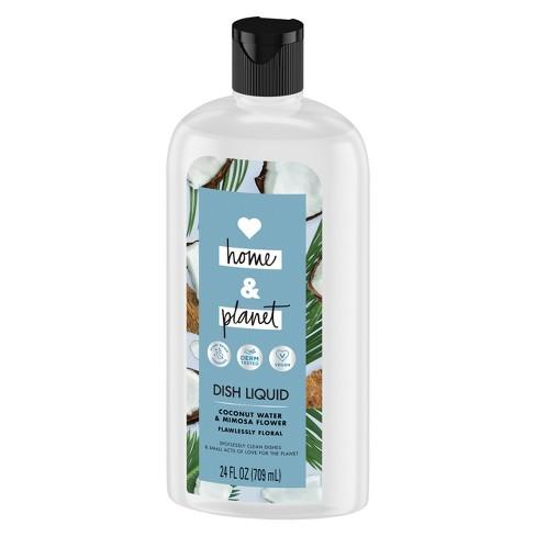 null - Love Home & Planet Coconut Water & Mimosa Flower Dish Liquid - 24 fl oz