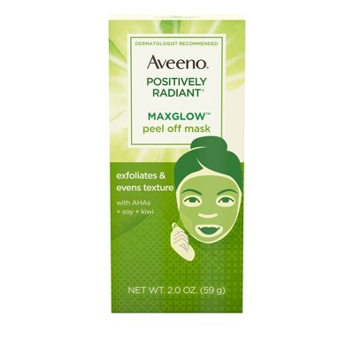 Aveeno - Positively Radiant MaxGlow Peel Off Exfoliating Face Mask