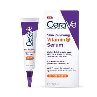 CeraVe - CeraVe Skin Renewing Vitamin C Face Serum With Hyaluronic Acid - 1 fl oz