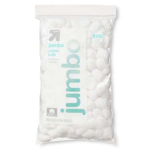 null - Jumbo Cotton Balls - 200ct - Up&Up™
