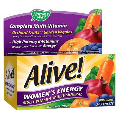 Nature's Way - Alive! Women's Energy Multivitamin