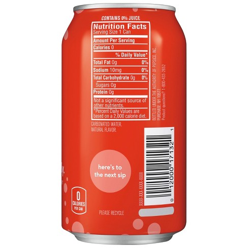 null - bubly Strawberry Sparkling Water - 8pk/12 fl oz Cans