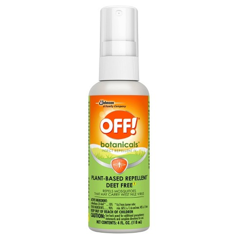 null - OFF! Botanicals Plant-Based DEET Free Insect Repellent IV - 4 fl oz/1ct