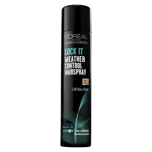 L'Oreal Paris Lock It Weather Control Hairspray