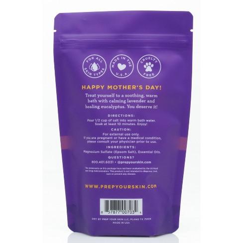null - PREP Mother's Day Relax Mom Lavender Eucalyptus Bath Salts - 16oz
