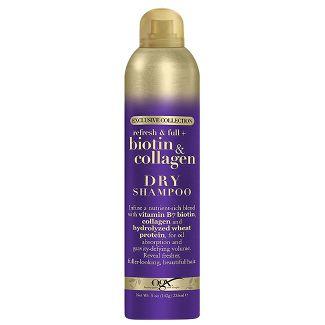 OGX - Refresh + Full and Biotin + Collagen Dry Shampoo