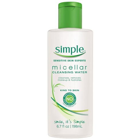 null - Unscented Simple Micellar Cleansing Water - 6.7oz