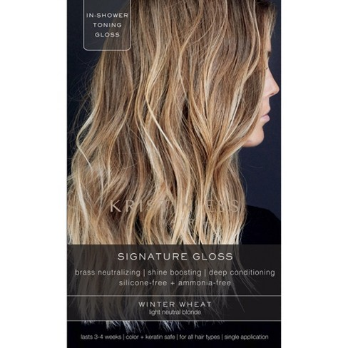 Kristin Ess - Hair Signature Gloss Temporary Hair Color, Winter Wheat