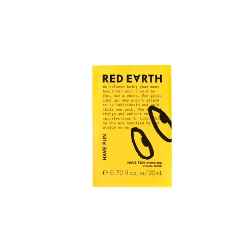 null - Red Earth Have Fun Hydrating Mask Yellow - .70 fl oz