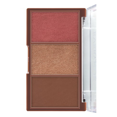 null - EveryHue Glow and Go Pressed Powder Trio Illuminating Blush - .42oz