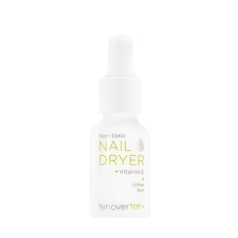 null - tenoverten Non-Toxic Nail Dryer Drops + Vitamin E - 0.50 fl oz