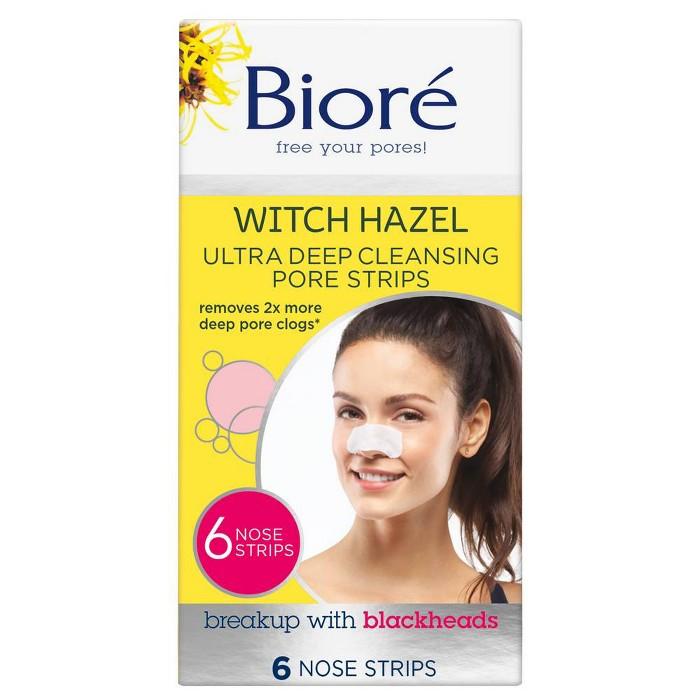 Biore - Biore Deep Cleansing Pore Nose Strips 6 ct