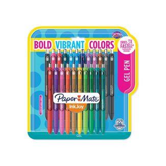 Paper Mate - Paper Mate 22pk InkJoy Rollerball Gel Pens Assorted Colors