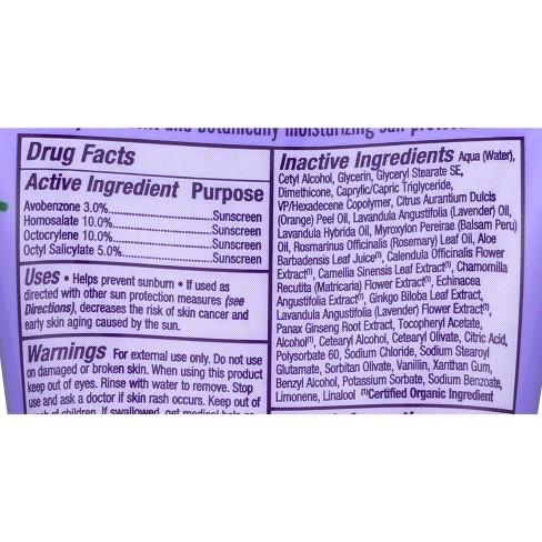 Alba Botanica - Alba Botanica Emollient Pure Lavender Sunscreen Lotion - SPF 45 - 4oz