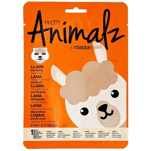 null - Masque Bar Basic Cleansing Pretty Animalz Llama Purifying Mask - 0.71 fl oz