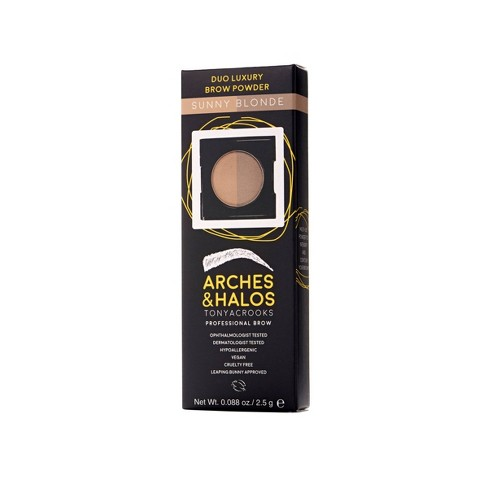 null - Arches & Halos Duo Luxury Brow Powder - 0.088oz