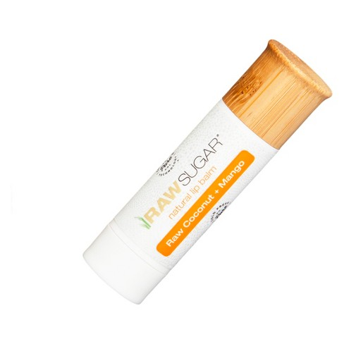 Raw Sugar - Lip Balm, Raw Coconut + Mango