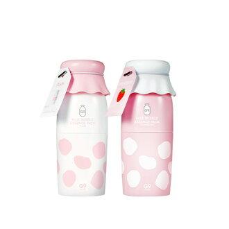 null - [20%OFF][G9SKIN/G9 skin] MILK BUBBLE ESSENCE PACK / milk bubble extract pack 50 g milk pack 1+1 set whitening water moisture humidity retention SkinGarden/ skin garden Korea cosmetics
