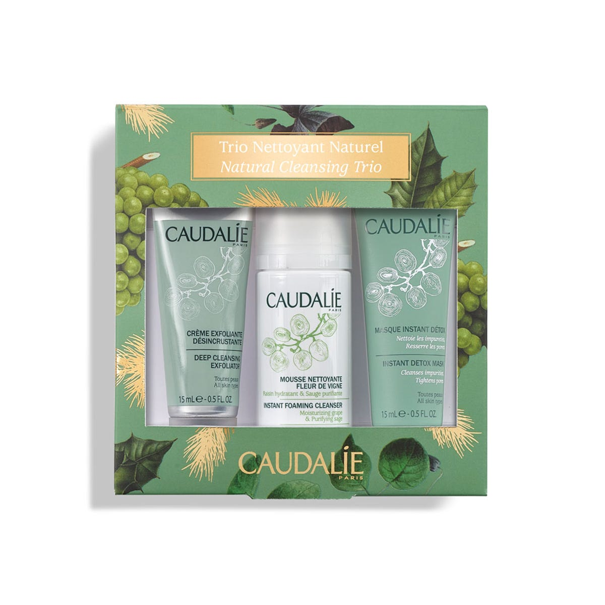 caudalie - Natural Cleansing Trio