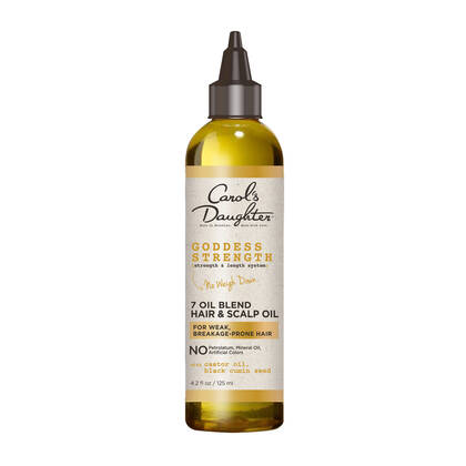 Carol's Daughter - Goddess Strength 7 Oil Blend Scalp & Hair Oil With Castor Oil