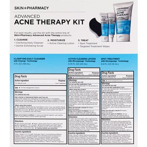 null - Skin + Pharmacy Advanced Acne Therapy Kit