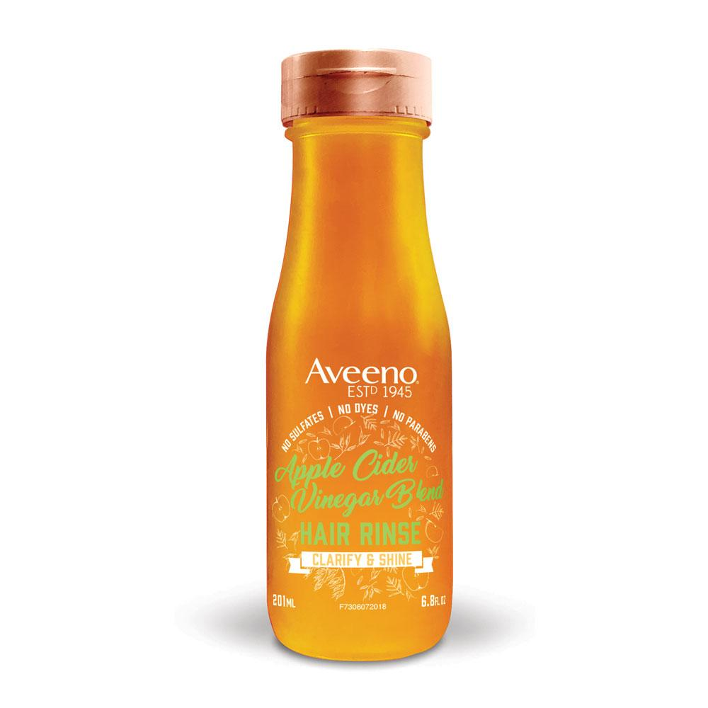 AVEENO - AVEENO® APPLE CIDER VINEGAR IN-SHOWER HAIR RINSE