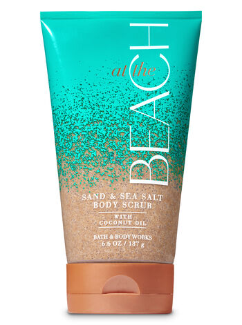 null - Signature Collection At the Beach Sand & Sea Salt Scrub